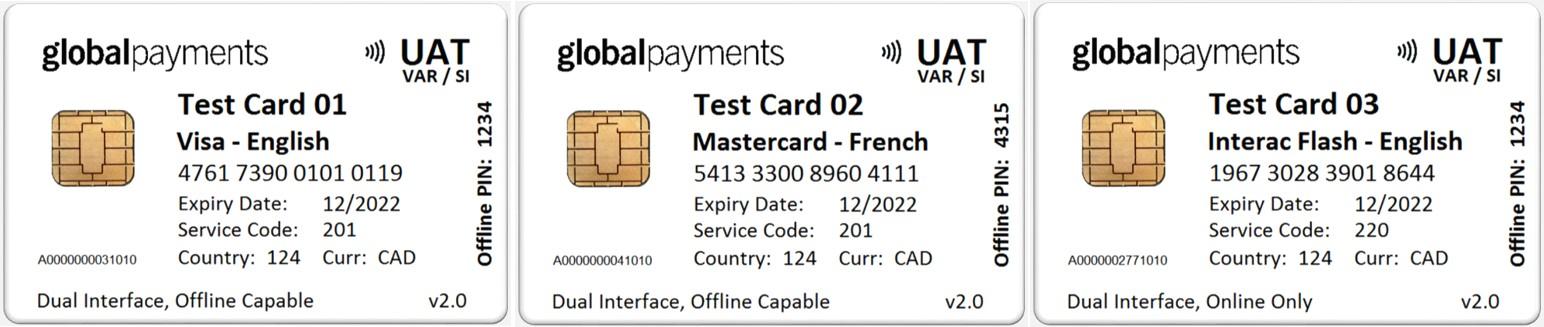 mastercard test card