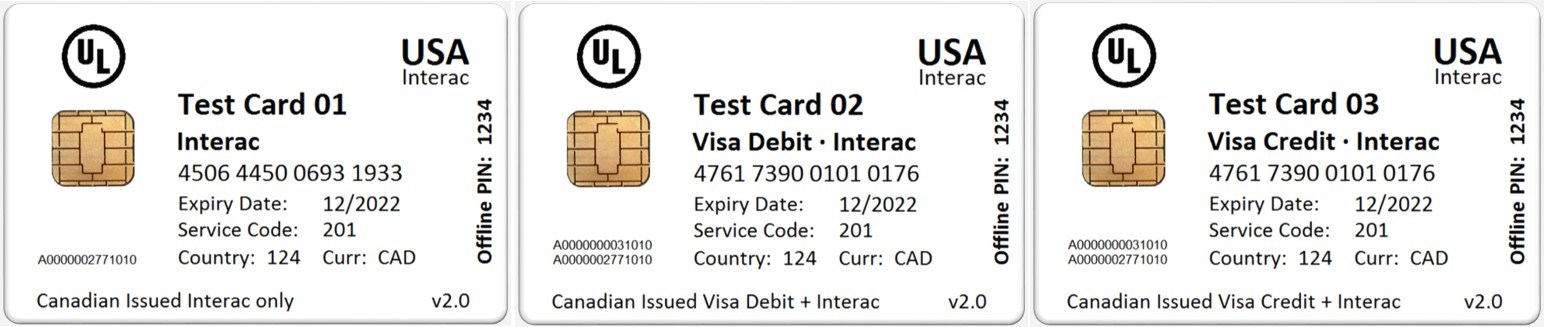 B2PS | EMV Test Card Sets // B2